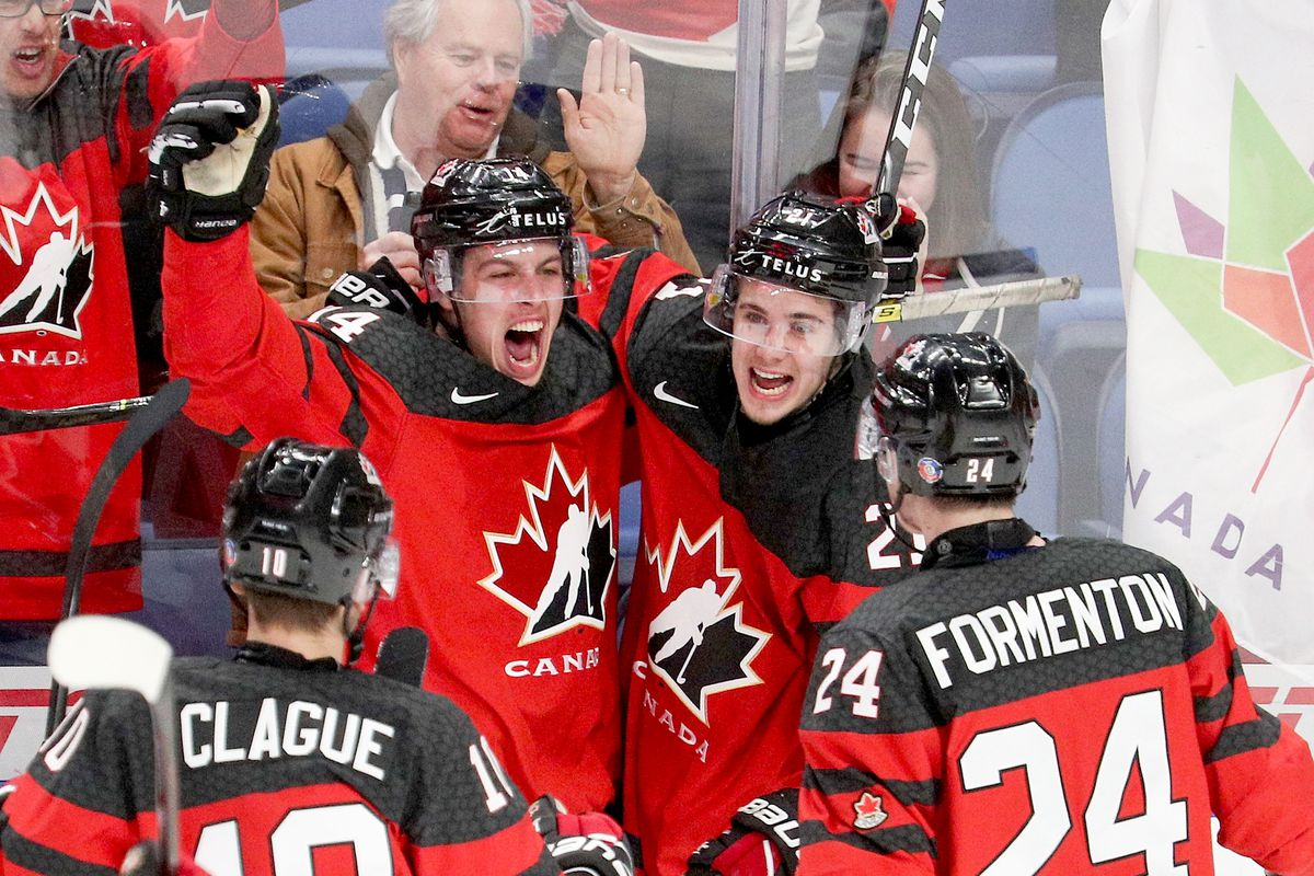 2018 World Junior Hockey Championship Schedule January 5 2018 Eyes On The Prize