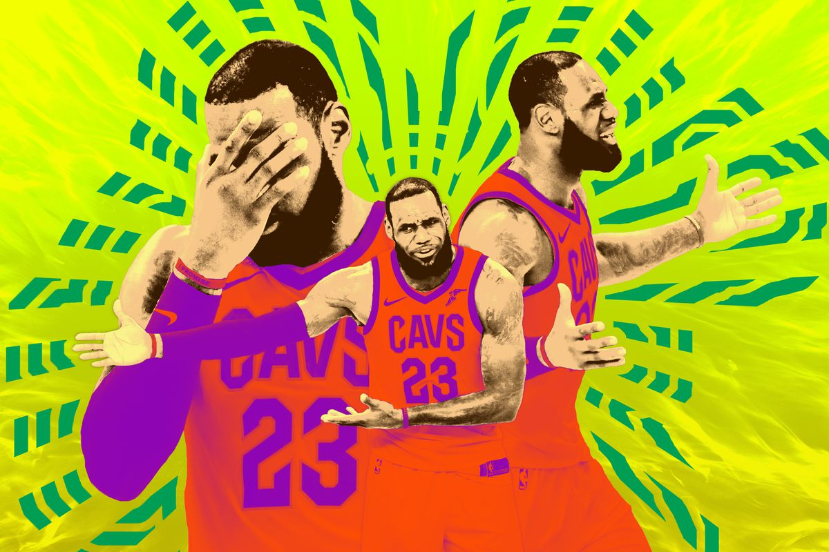 698630fbfc44 The Weight on LeBron s Shoulders Is Adding Up - The Ringer