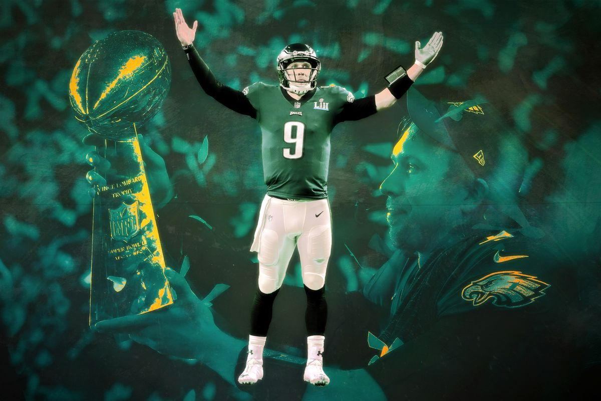 sale retailer 06188 90da2 Nick Foles and the Eagles Turned Super Bowl LII Into the ...