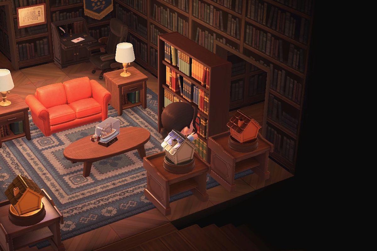 Living Room Animal Crossing New Horizons - RUNYAM
