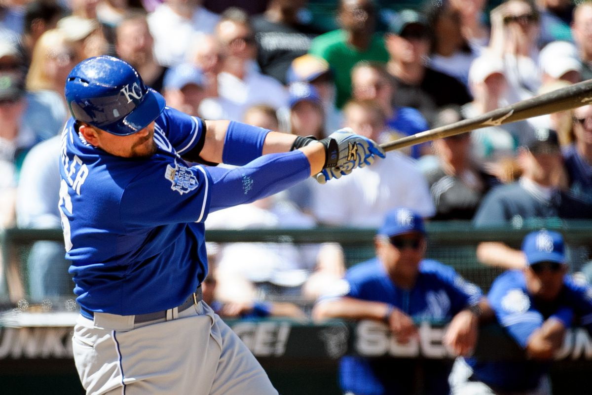 Billy Butler continues to play like an actual real life major league player.  One of eight or so, on the Royals' roster.