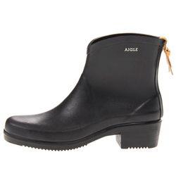"<b>AIGLE</b> Miss Juliette Bottillon in black, <a href=""http://www.zappos.com/aigle-miss-juliette-bottillon-black"">$182</a> at Zappos"