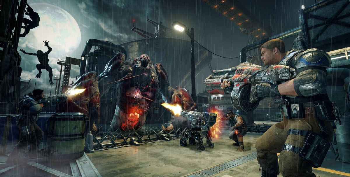 An Hour With Gears Of War 4 S New Horde Mode Polygon
