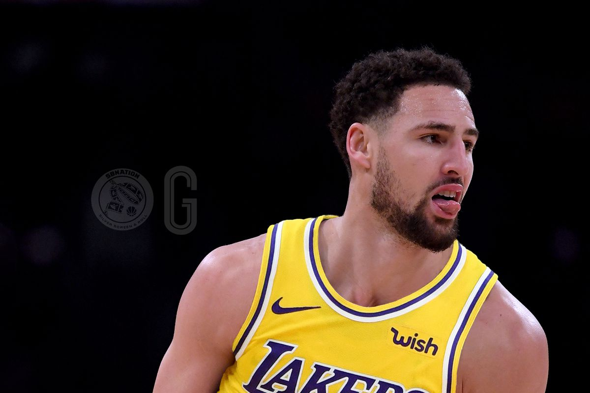 f54d55d67af8 Klay Thompson would have interest in Lakers if they trade for Anthony Davis  and Warriors don t offer him max