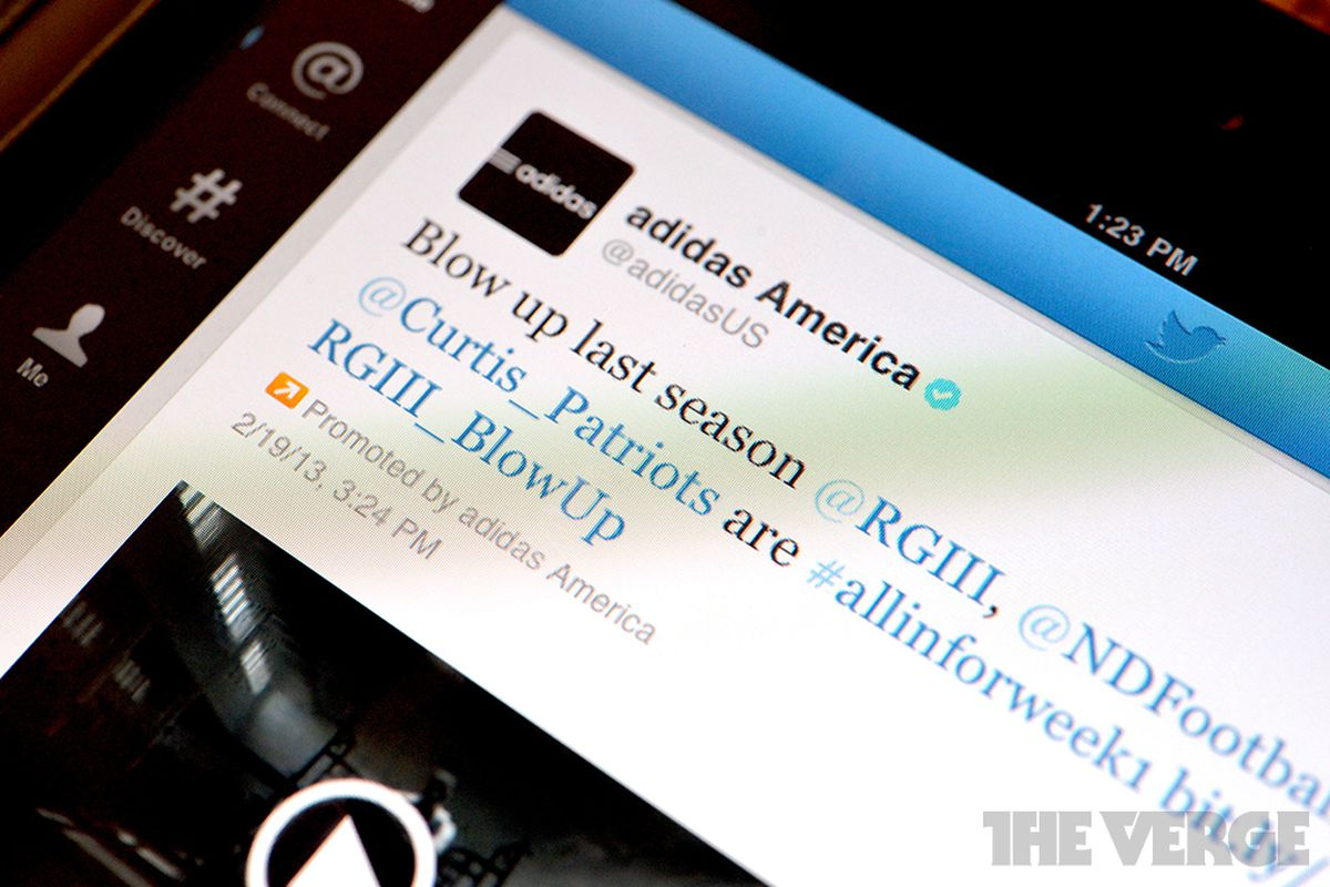 Twitter promoted tweet stock