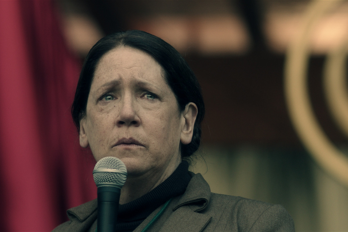 how ann dowd crafted two of tv s most disturbing characters without