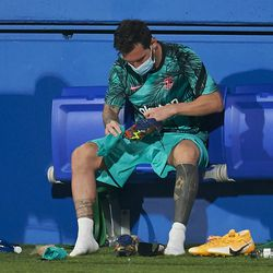 Messi takes a breather