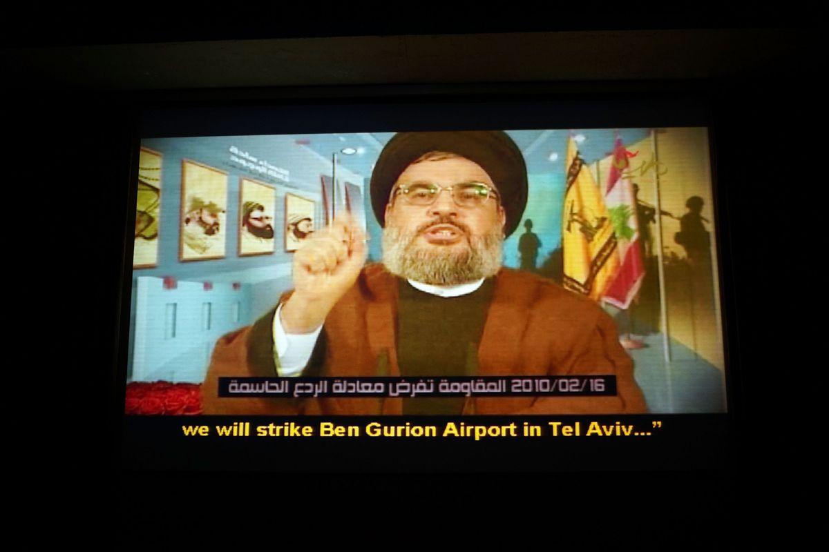 Hezbollah leader Hassan Nasrallah.