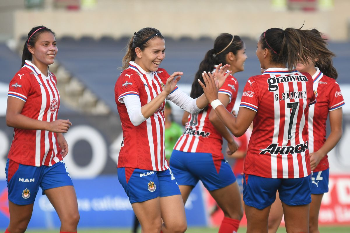 Licha Cervantes became Chivas' all-time leading scorer this season, having amassed 32 goals in her two seasons with the club.