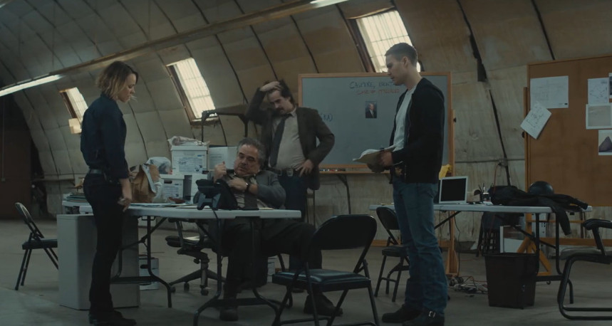 The crime gets solved on True Detective.