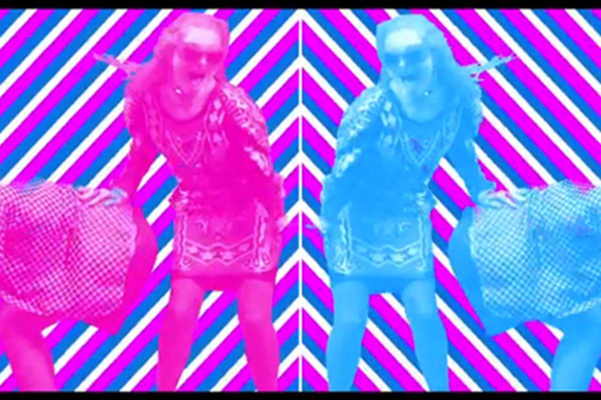 "Still from the promo video, via <a href=""http://video.wmagazine.com/fashion-films/linda-farrow-boffo"">W Magazine</a>"