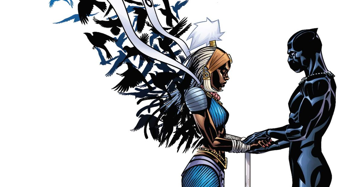 From the cover of Black Panther #9, Marvel Comics, 2016.