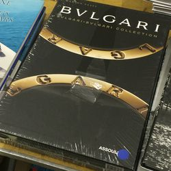 Bulgari book, $18.75 (was $75)
