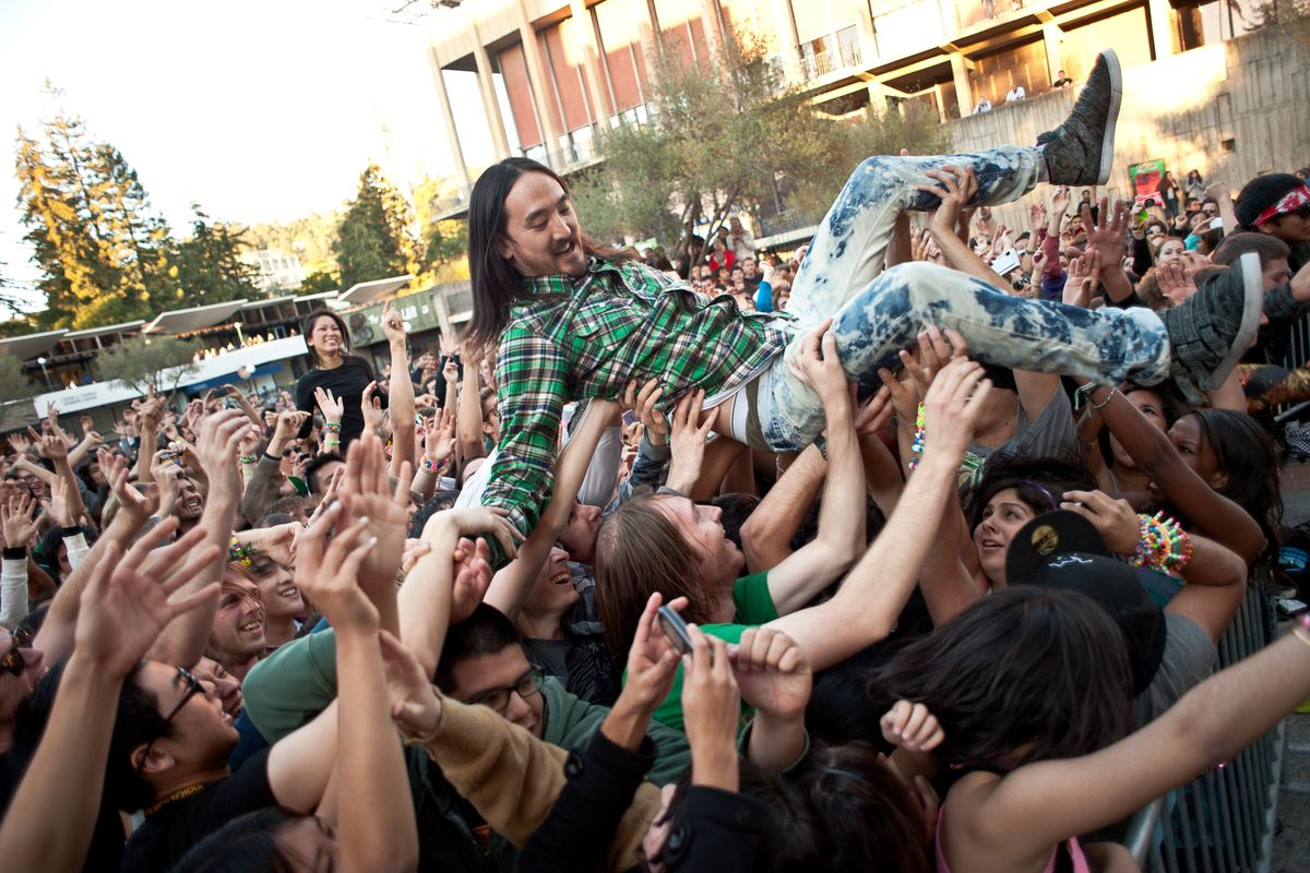 Those kids. Too much time crowd-surfing and too little time sizing up mutual funds.