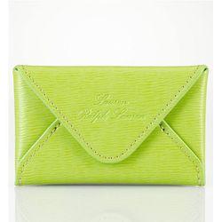 "<b>Lauren Ralph Lauren</b> Newbury Envelope Card Case in lime, <a href=""http://www1.macys.com/shop/product/lauren-ralph-lauren-handbag-newbury-envelope-card-case?ID=631526&CategoryID=27689&LinkType=#"">$38</a> at Macy's"