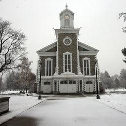 The Logan Tabernacle in Logan in 2009.