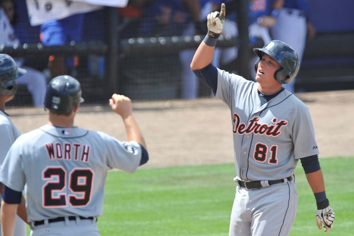 James McCann returned from the Futures Game and recored one hit for Erie.