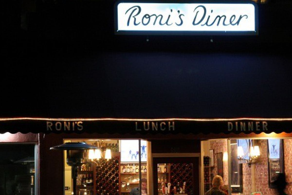 Roni's Diner, Beverly Hills.