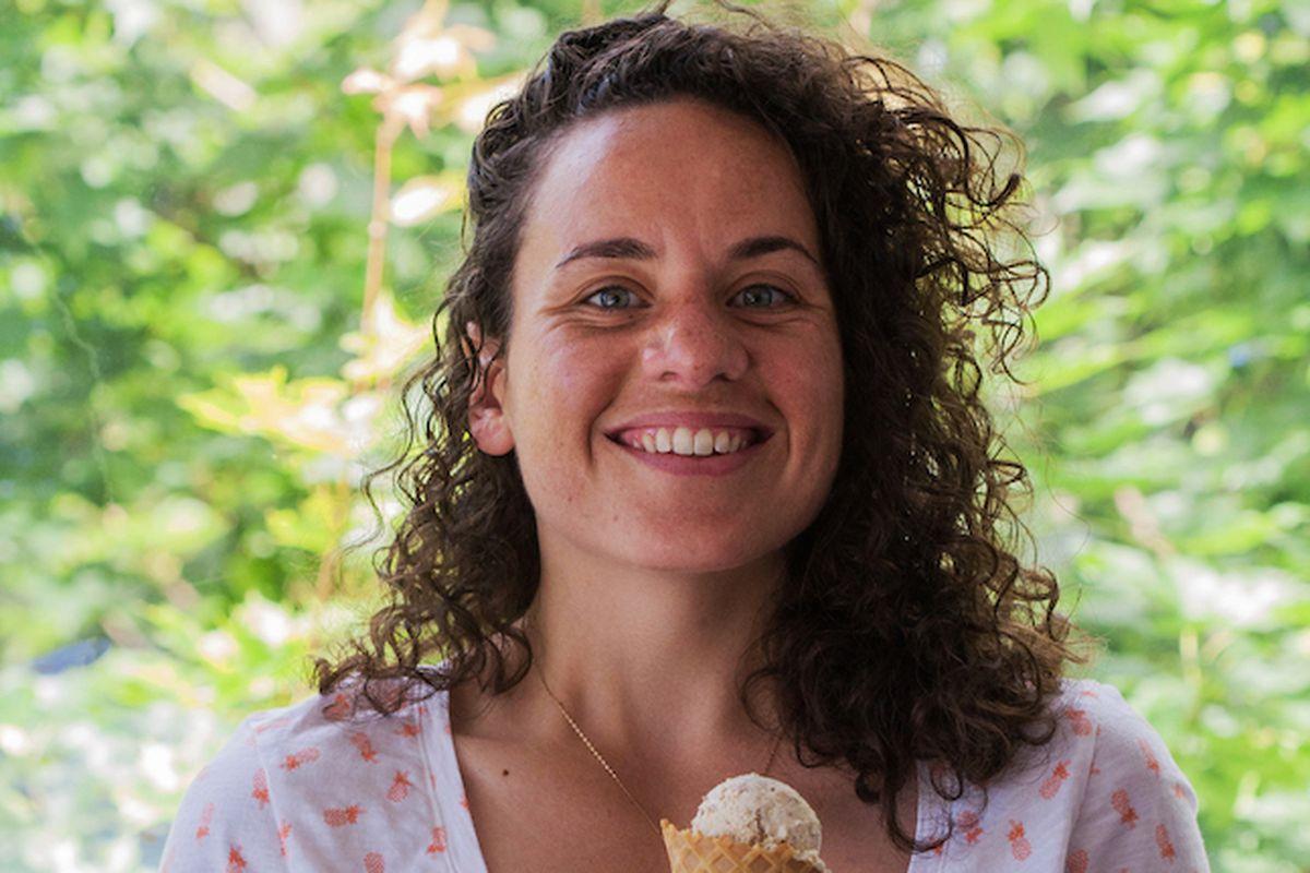 Lauren Wilson of Sweet Lo's Ice Cream