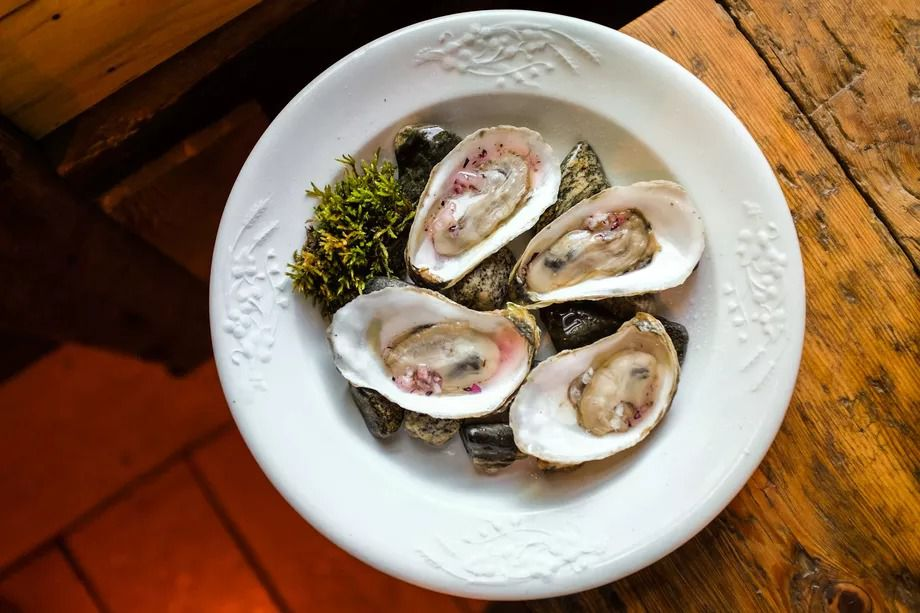 Oysters at the Lost Kitchen