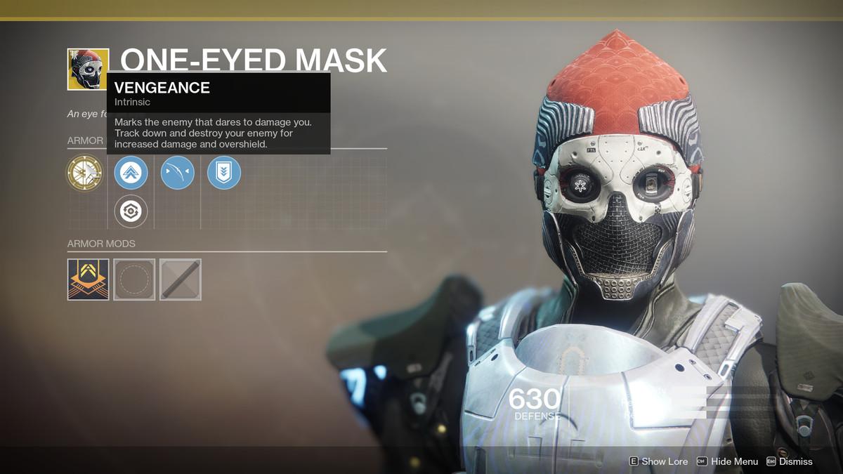 One-eyed Mask Exotic Destiny 2