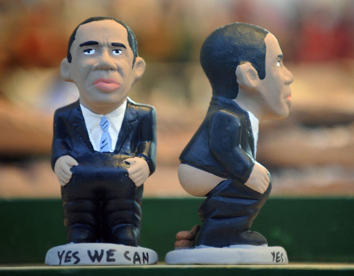 Obama caganer