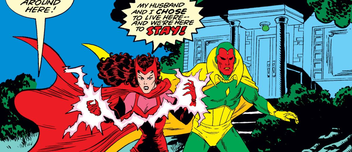 What Marvel's Disney Plus show WandaVision might adapt from comics