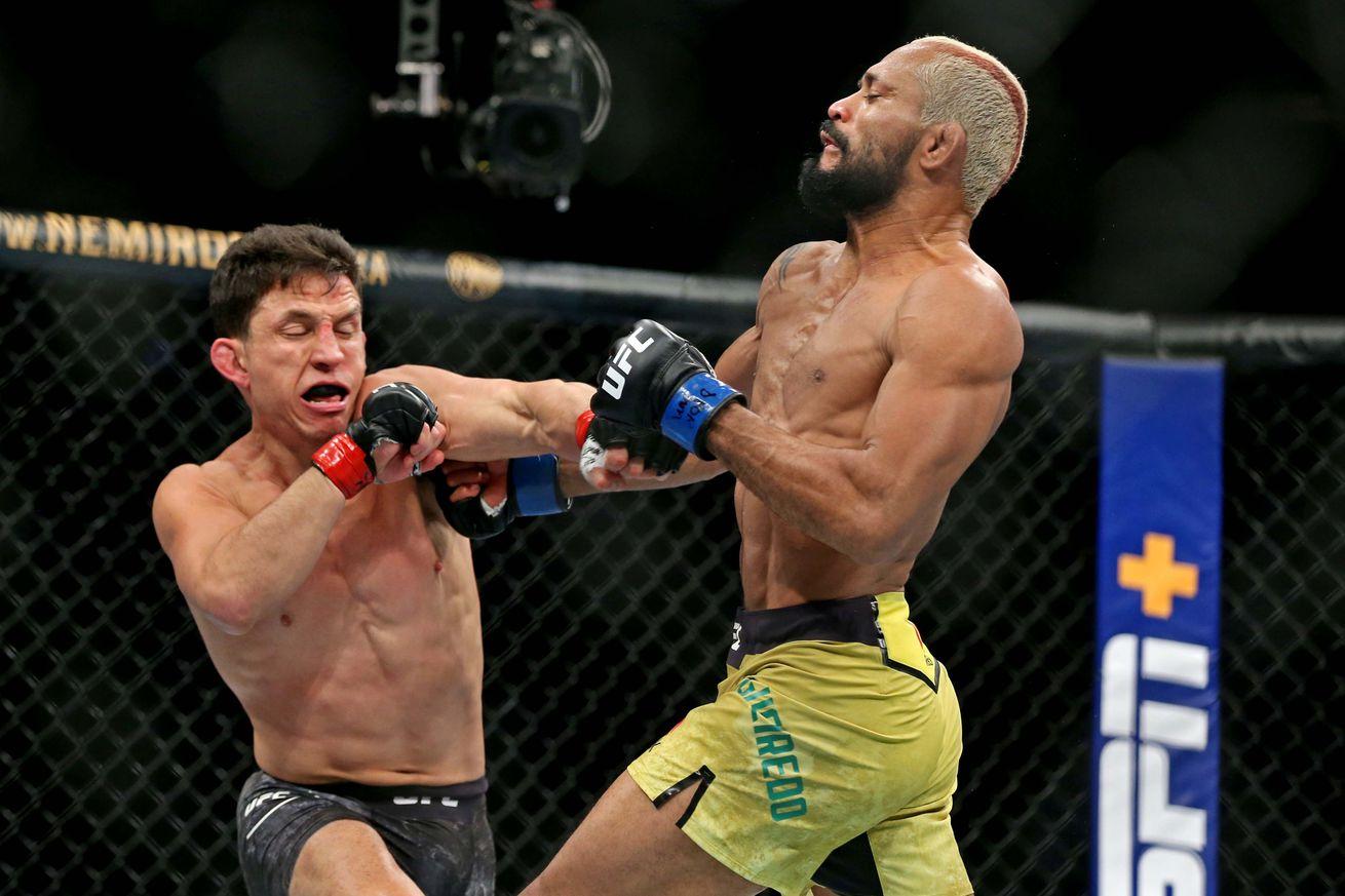 MMA: UFC Fight Night-Norfolk-Benavidez vs Figueiredo