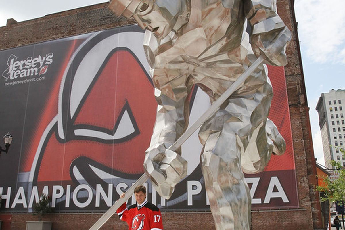 I would suggest not drafting Kovalchuk this year. The giant hockey robot is a sleeper, though!