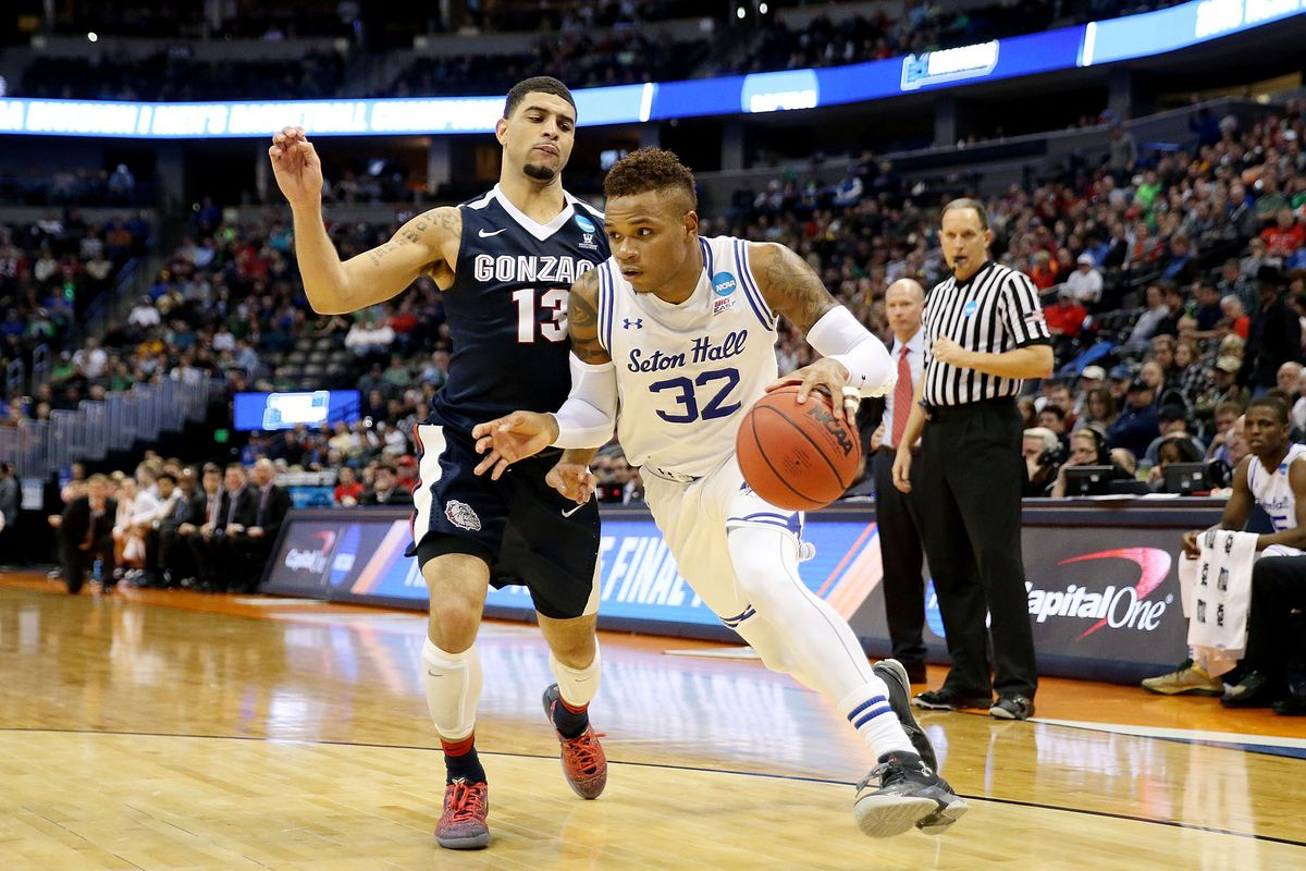 Derrick Gordon, shown in 2016, was openly gay on his Seton Hall basketball team.