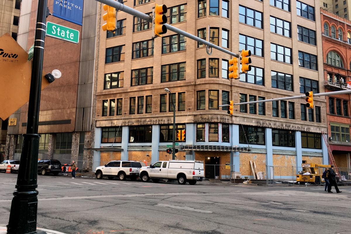 A new steakhouse is headed for the Capitol Park Building.