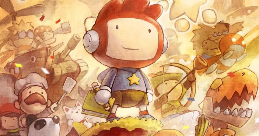 A new Scribblenauts game is coming to Nintendo Switch
