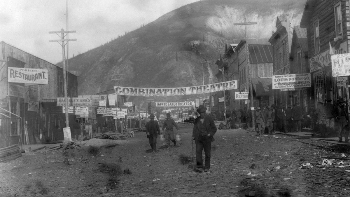 Dawson City: Frozen Time lost film strip