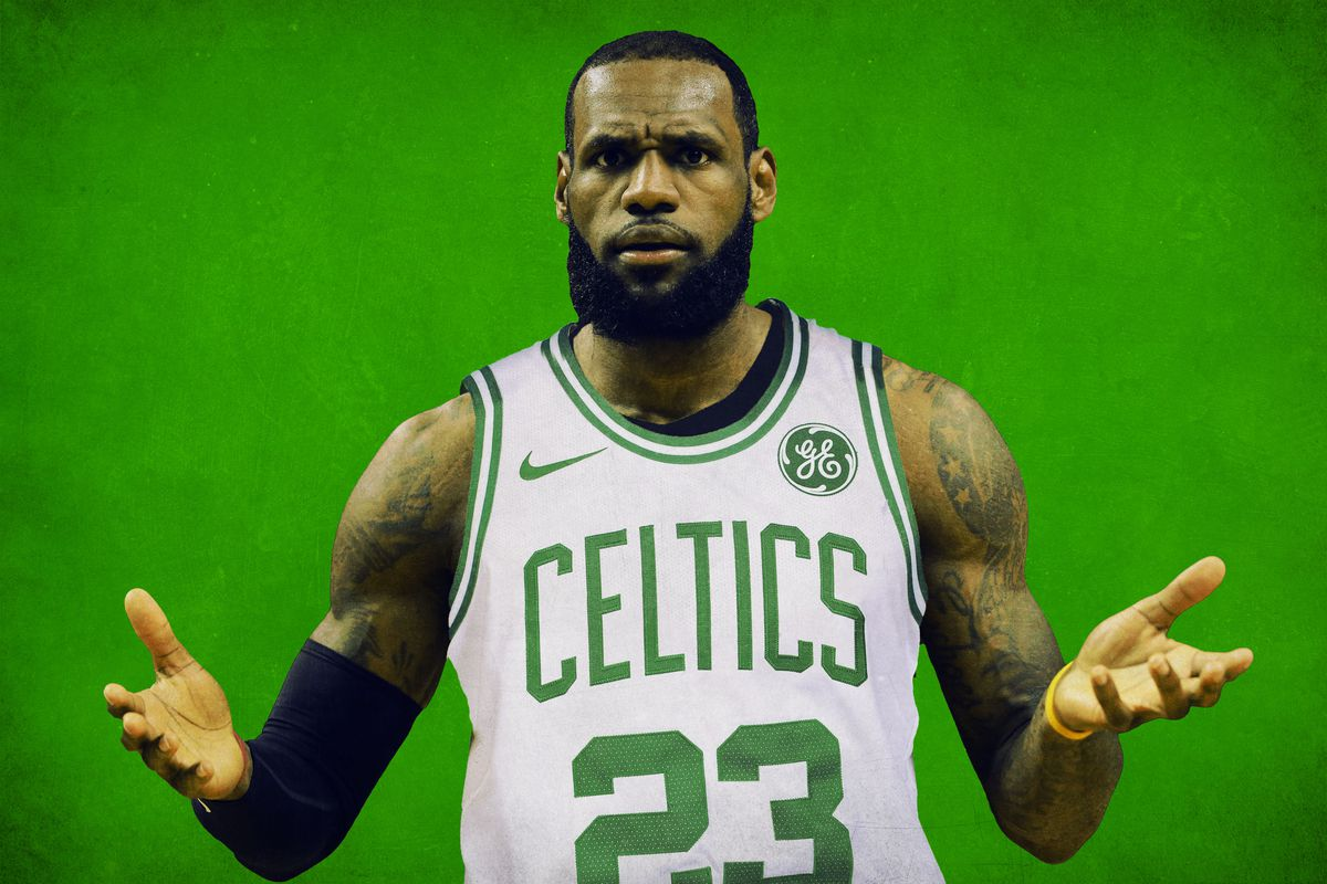 competitive price 6e540 089b8 LeBron's Terrifyingly Plausible Path to Boston - The Ringer