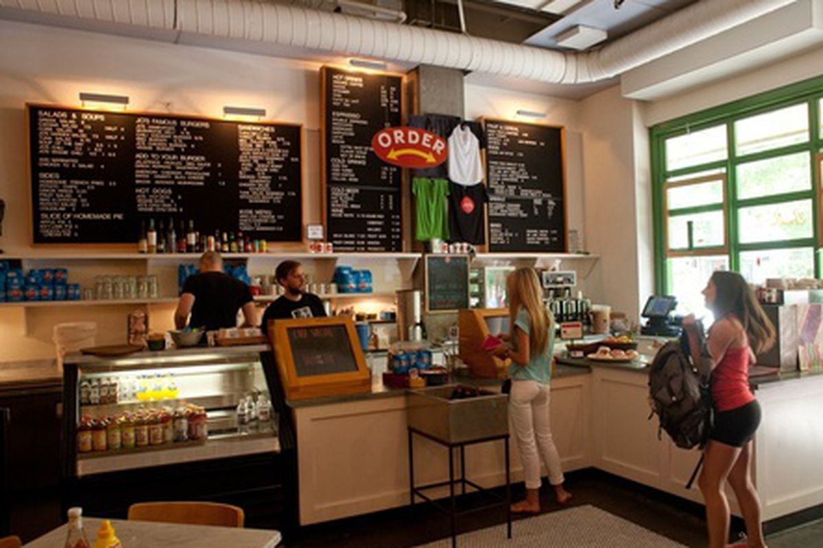 Jo's Coffee Downtown.