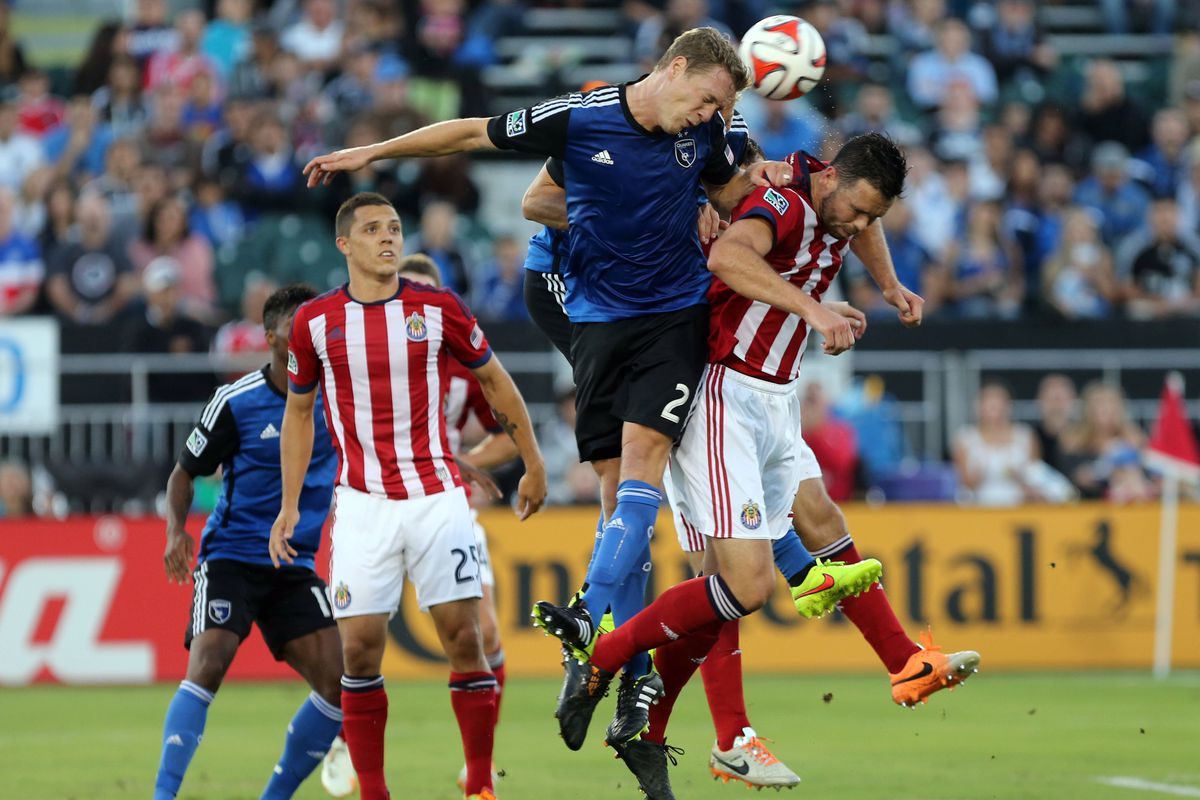 Chivas got the better of the Quakes twice in 2014.