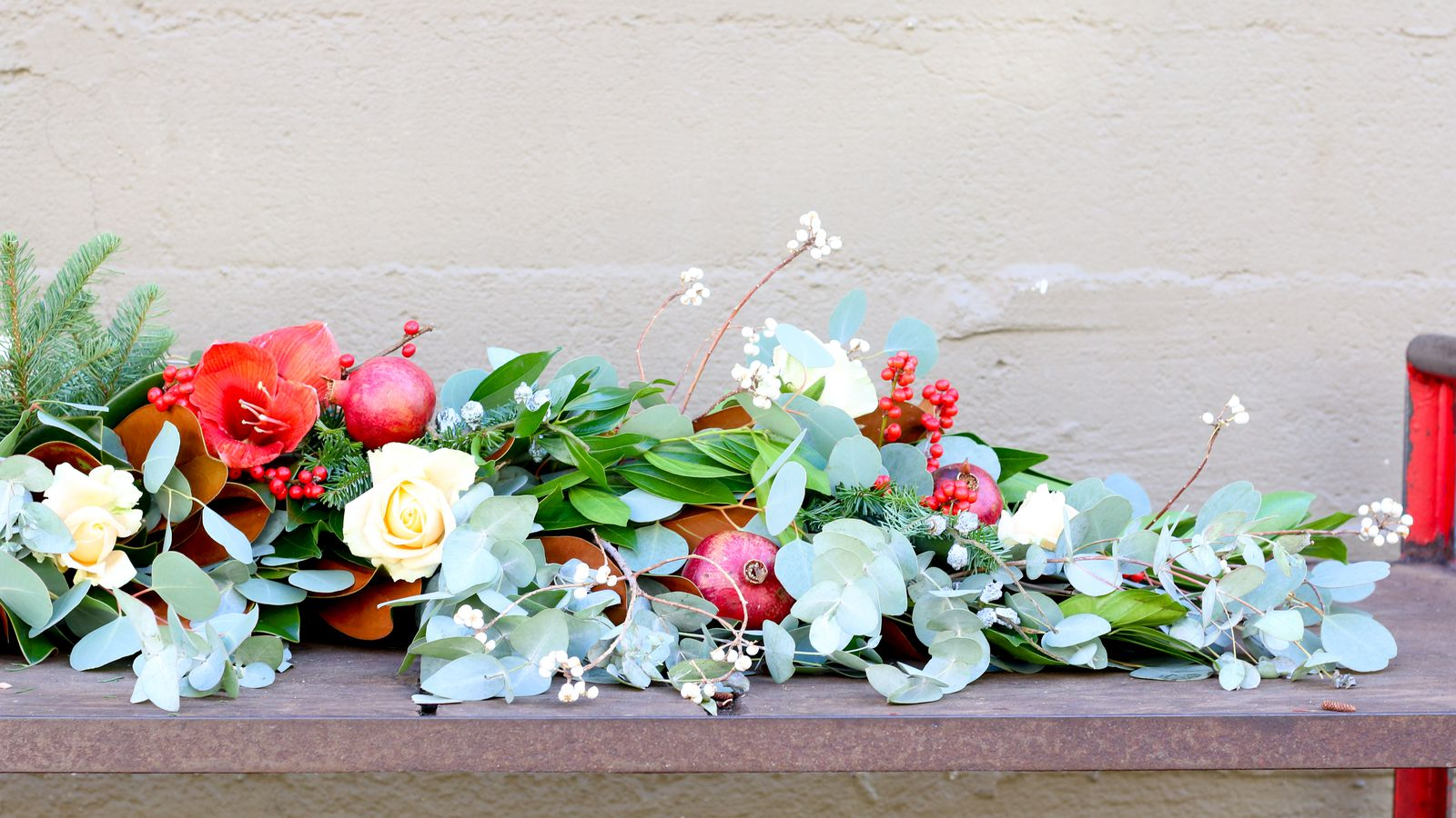 Deck the Halls With a DIY Garland Racked SF