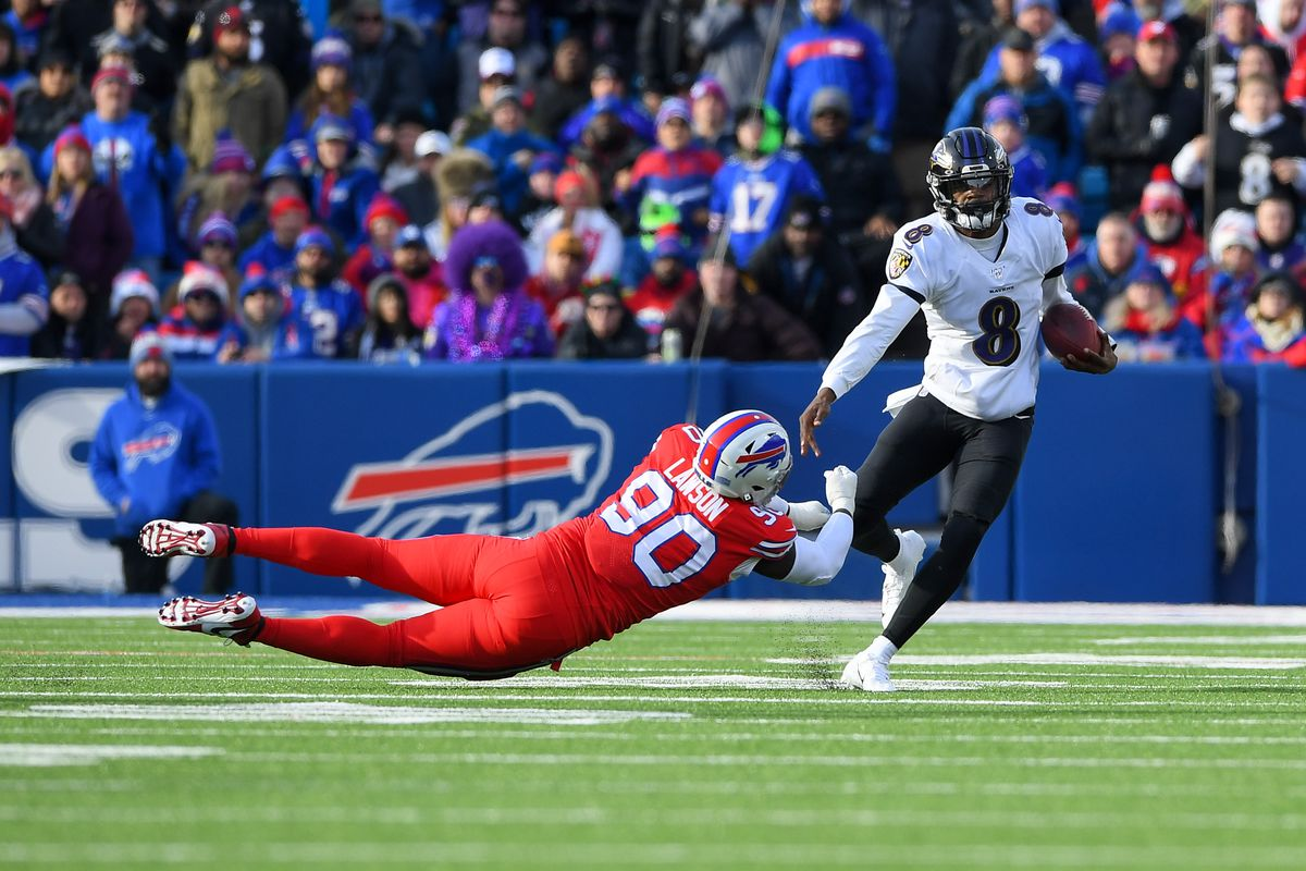 Lamar Jackson S 5 Most Eye Opening Plays From Ravens Vs Bills Ranked Sbnation Com