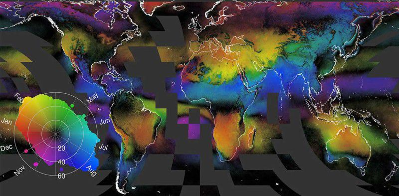 This Stunning Cloud Atlas Can Tell Us A Lot About Life On Earth Vox - Us-cloud-map