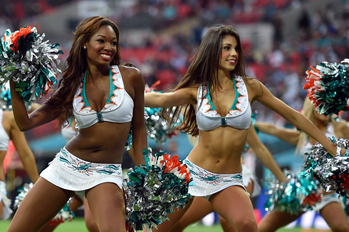 Yes, you can watch Dolphins cheerleaders, too