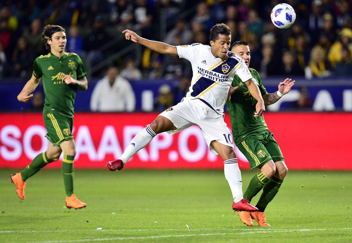 MLS: Portland Timbers at Los Angeles Galaxy