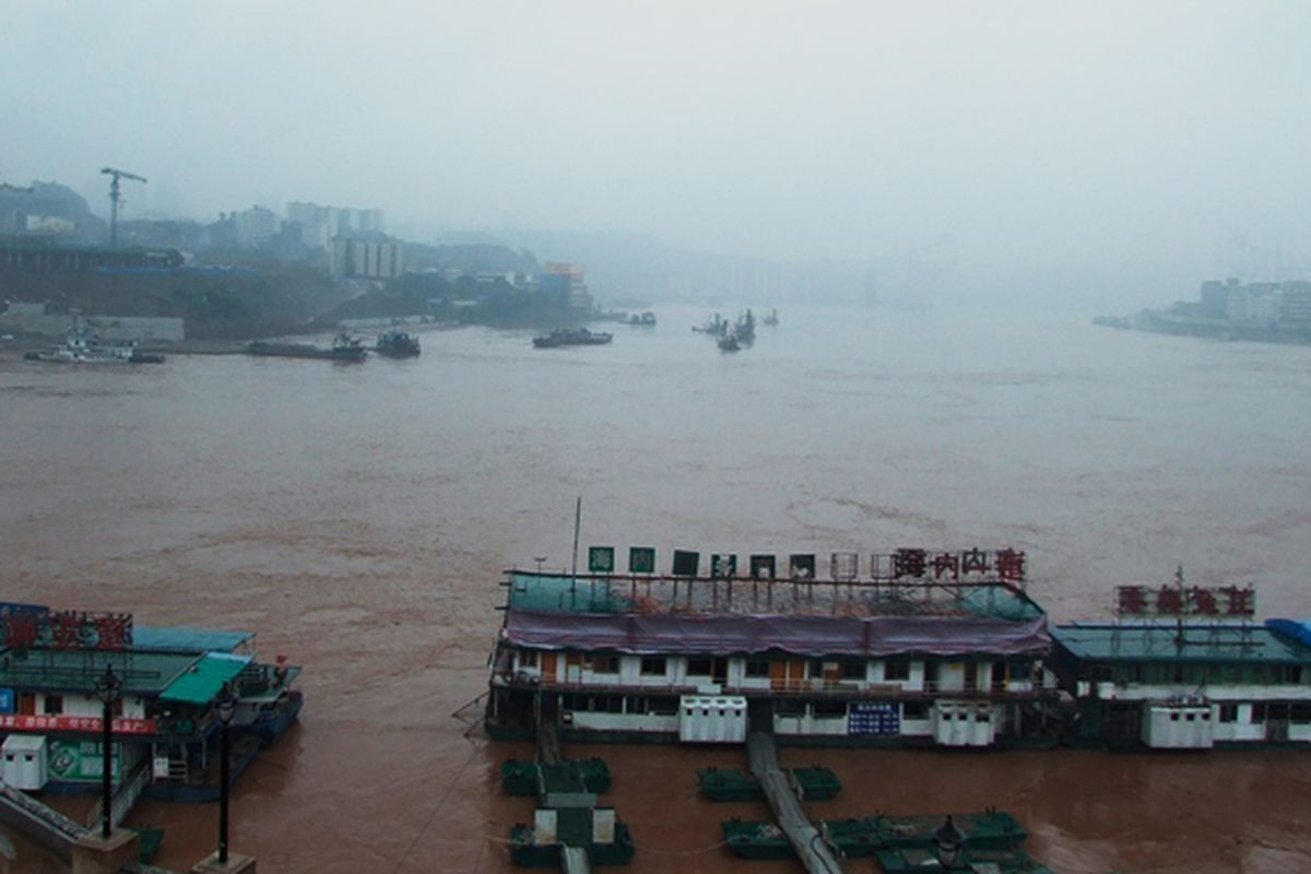 shrinking rivers china lede. For years ...
