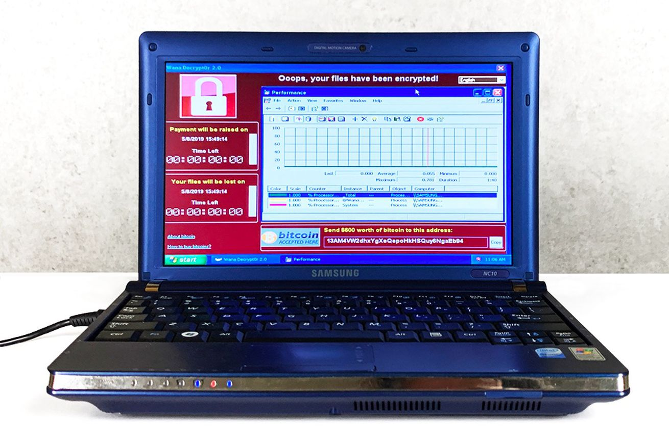 A laptop filled with six of the world's most dangerous viruses is on sale for more than $1 million