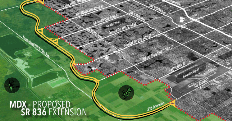 Log Homes For Sale >> Dolphin Expressway extension: Miami-Dade approves Kendall Parkway plan - Curbed Miami