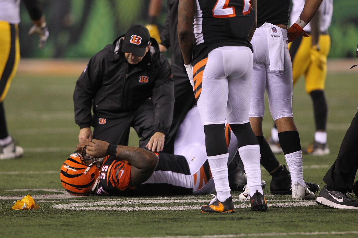 """75a818406ac An Ugly Night""""  Steelers-Bengals Marred by Dangerous Hits - The Ringer"""