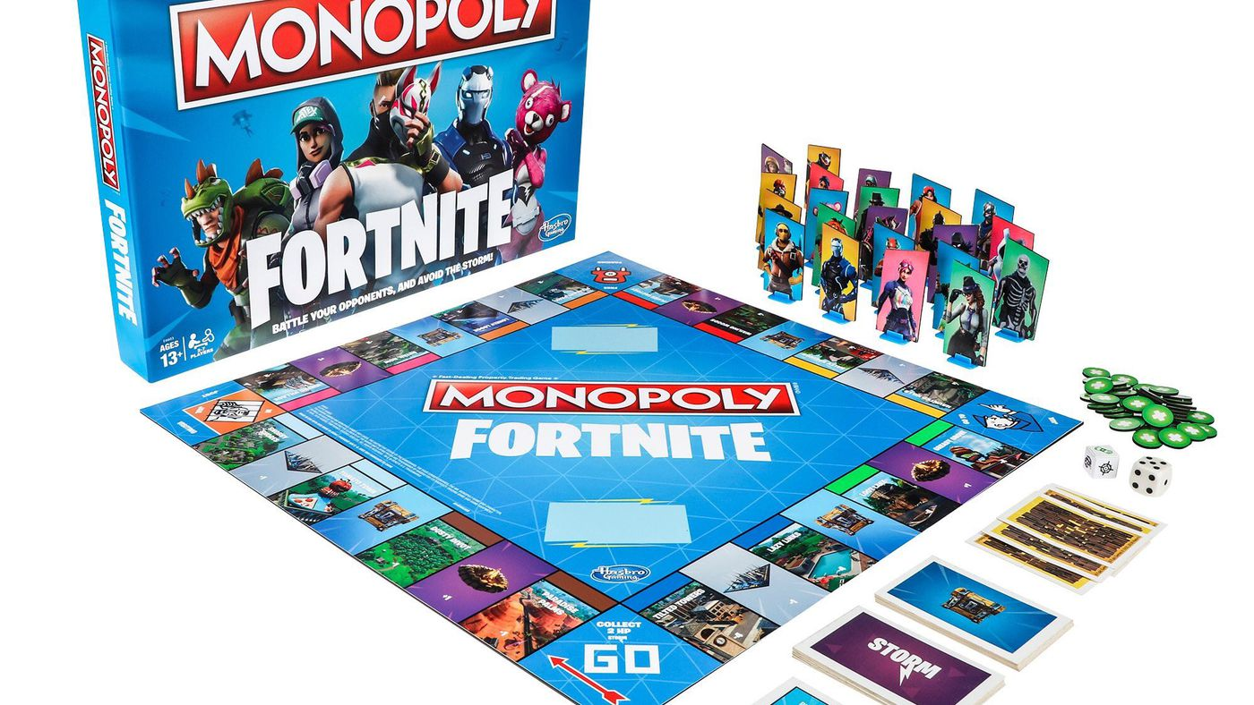 Fortnite Monopoly Is Coming This October Polygon - Board game design software