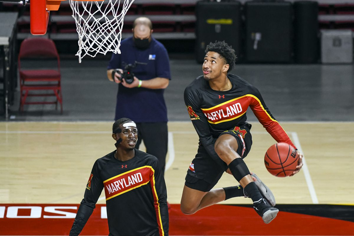 COLLEGE BASKETBALL: JAN 27 Wisconsin at Maryland