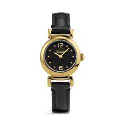 """<a href=""""http://f.curbed.cc/f/Coach_111913_Watch"""">Madison Gold Plated Watch</a>, $198"""