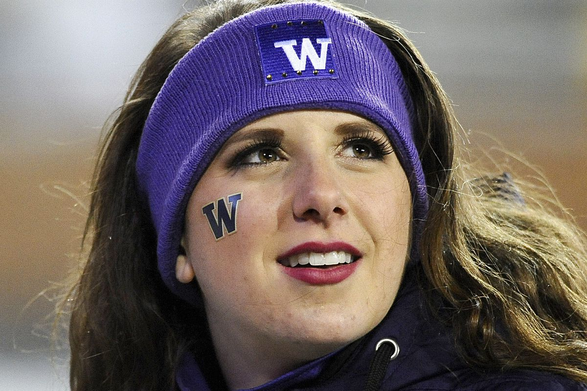 Where will this Husky fan spend her holiday season?