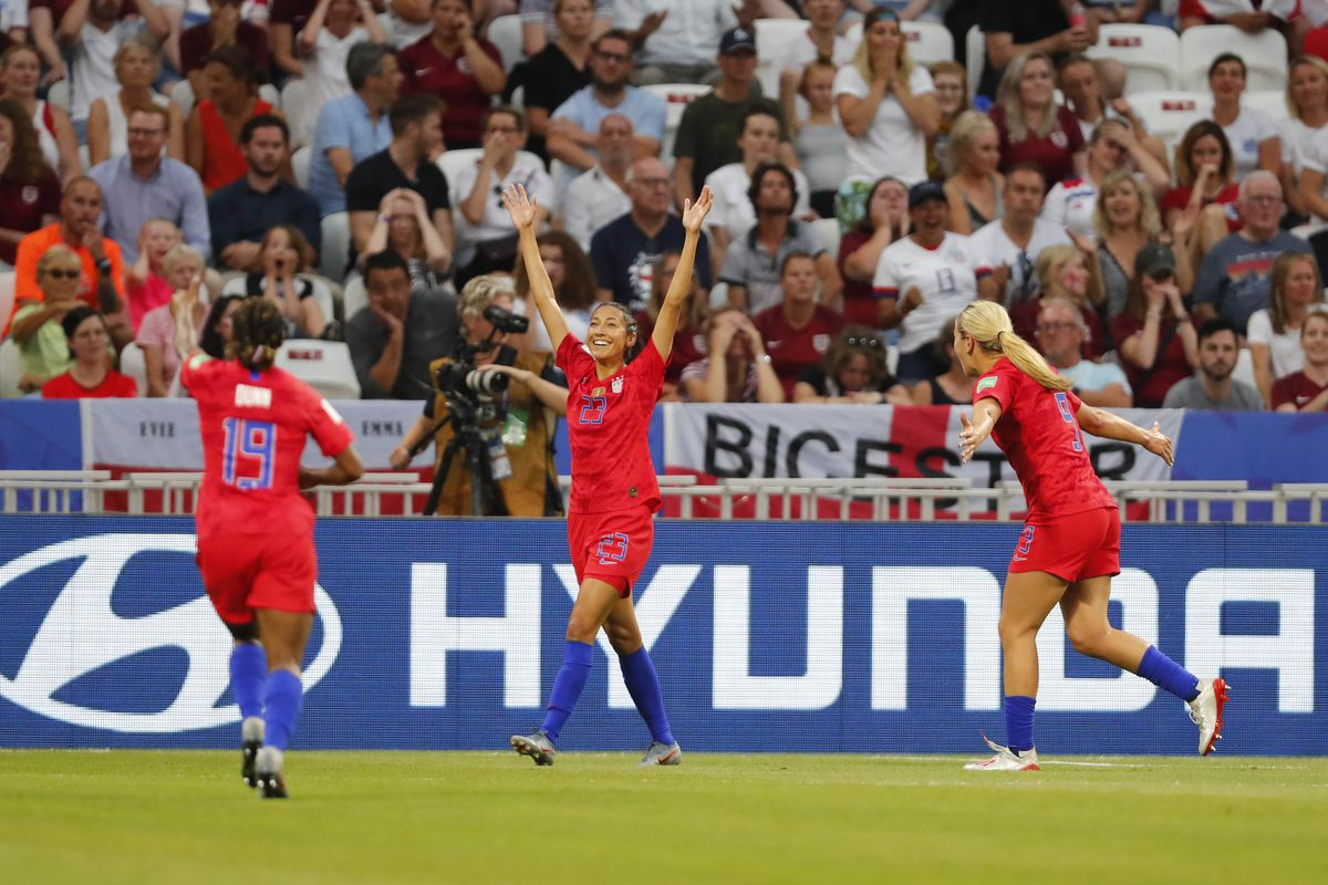 Soccer: Womens World Cup-England vs USA